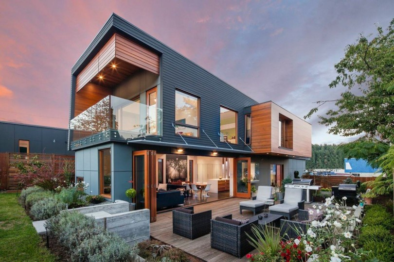 Contemporary House by Checkwitch Poiron Architects