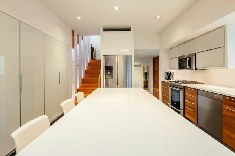 Double High House by Checkwitch Poiron Architects