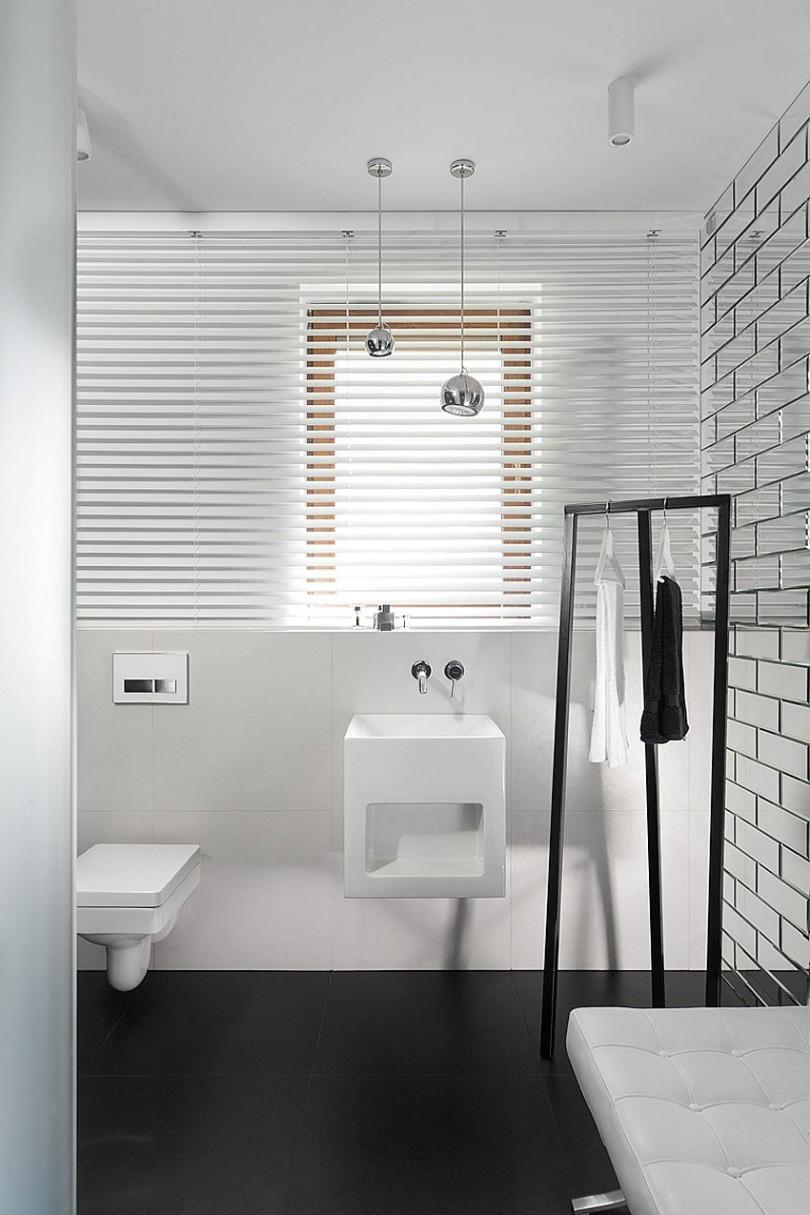 Simply but elegant interior in Poland