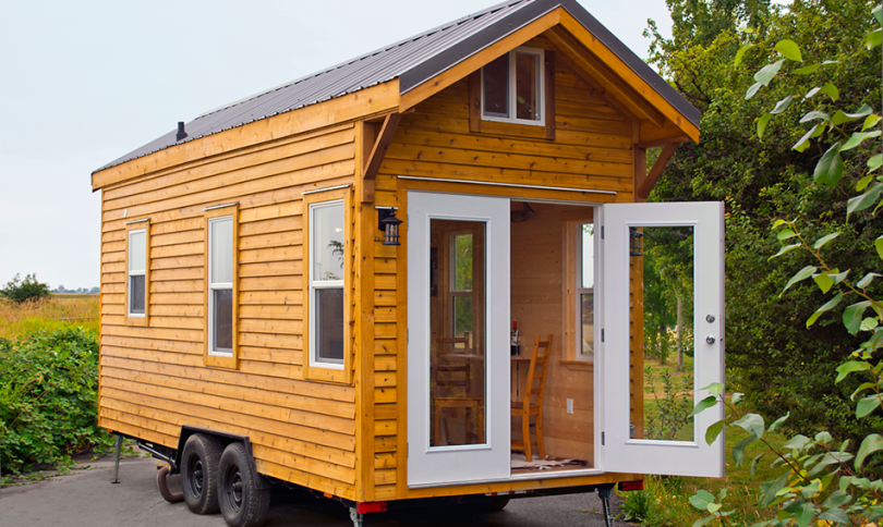 Tiny House on wheels by Tiny Living Homes