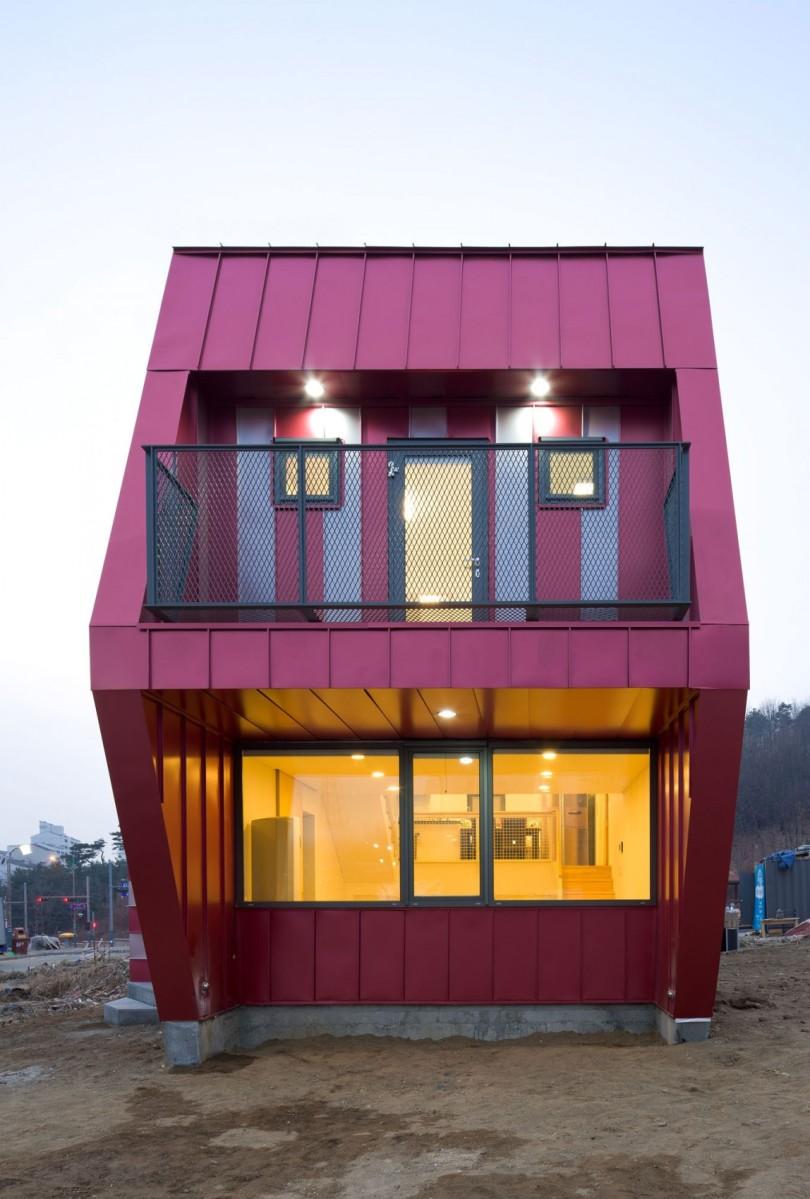Unusual Residence By Moon Hoon Lollipop House Homedezen