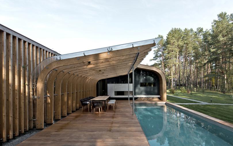 Contemporary Villa in Vilnius