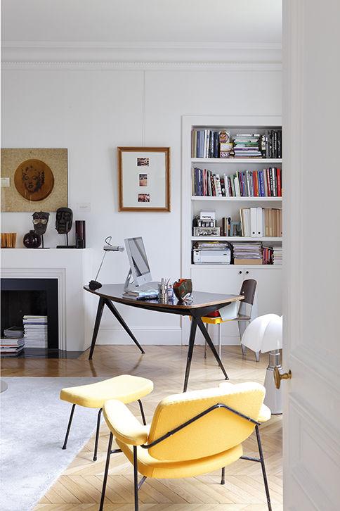 Chic Apartment in Paris by Sandra Benhamou