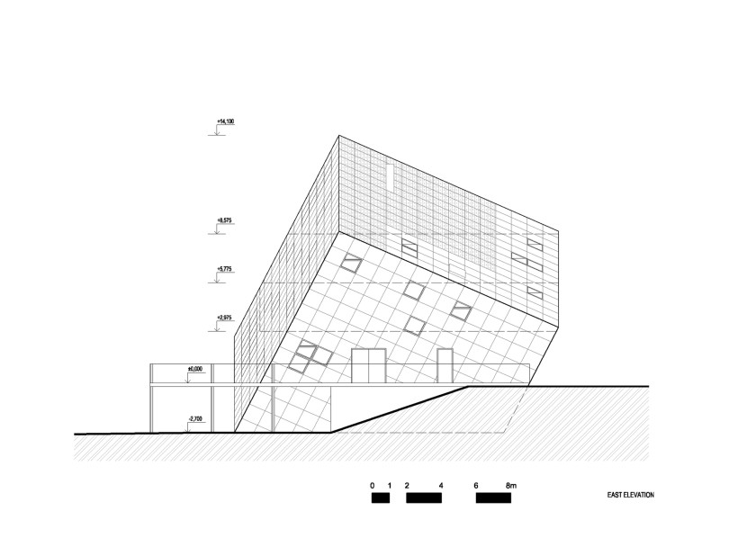 Sustainable Mountain Hut by Atelier 8000