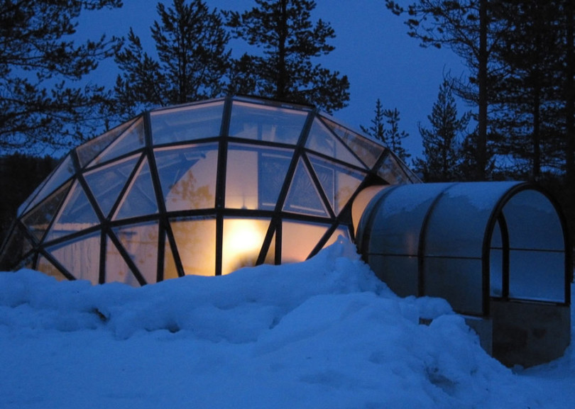 Glass Igloos in Finland-01