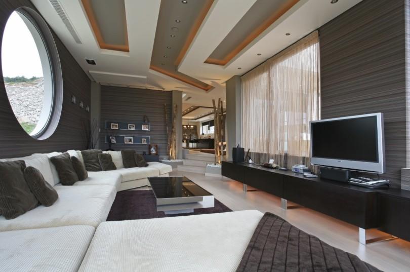 Luxurious Villa in Greece by Dimitris Interiors Economou-16