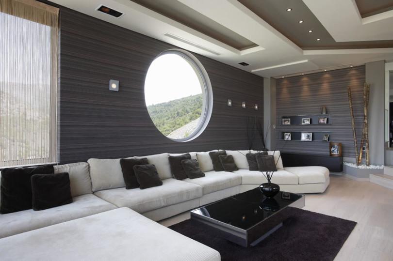 Luxurious Villa in Greece by Dimitris Interiors Economou-18
