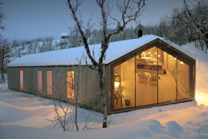 Mountain Cabin in Norway by Reiulf Ramstad Architects