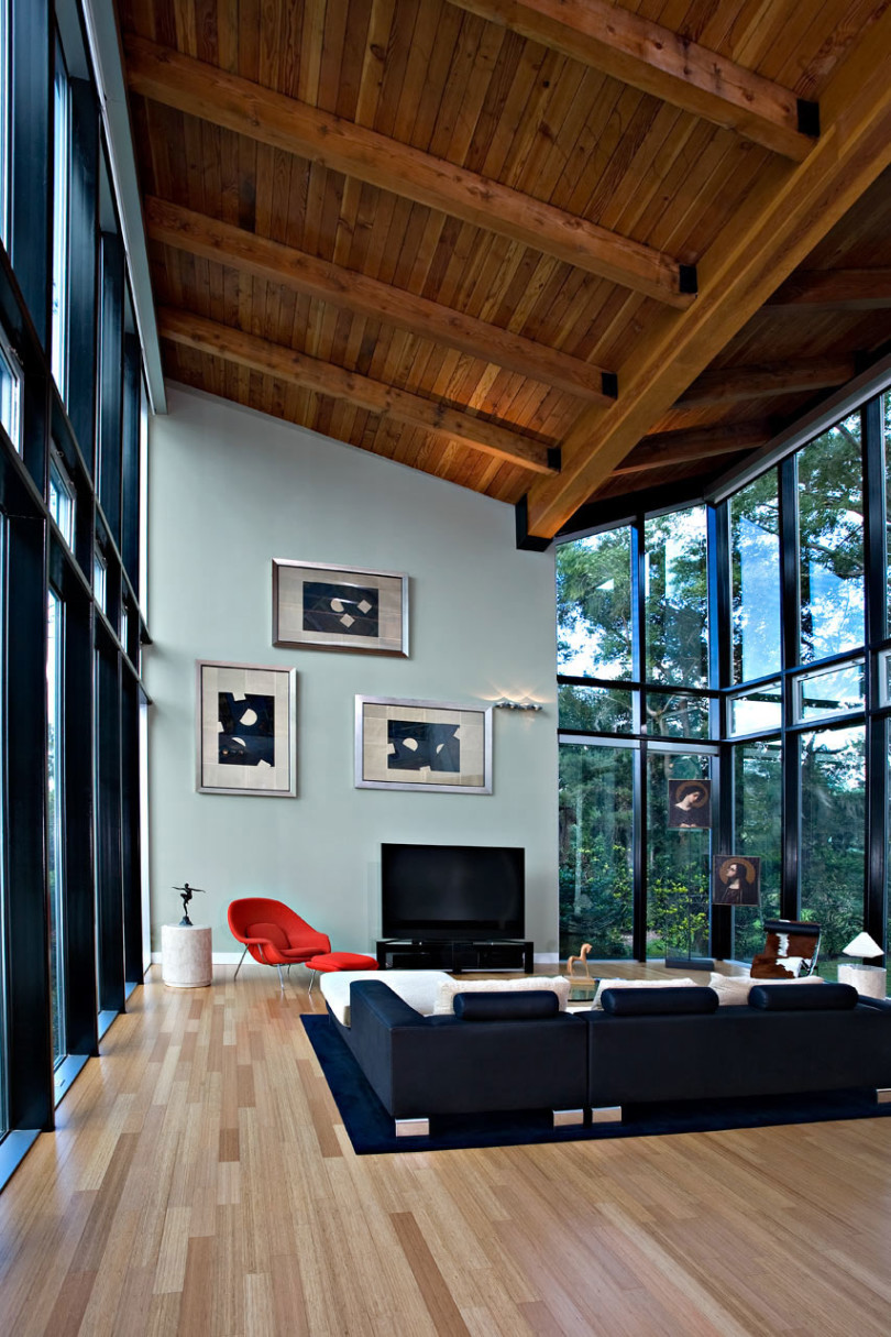 Family House on White Trout Lake by Alfonso Architects-09