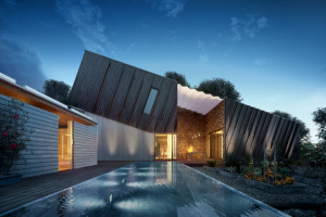 Ecological and sustainable house by Snøhetta: ZEB Pilot House