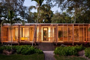 Tropical refuge in downtown Miami by Brillhart Architecture