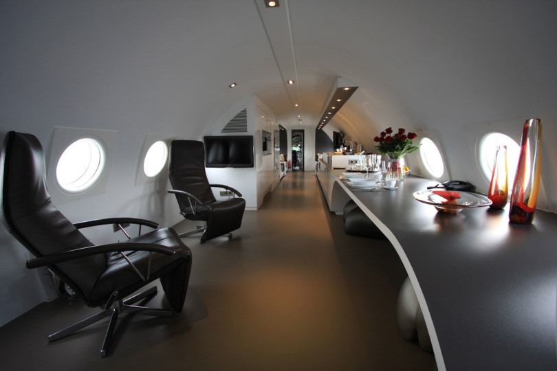 Airplane Suite in The Netherlands