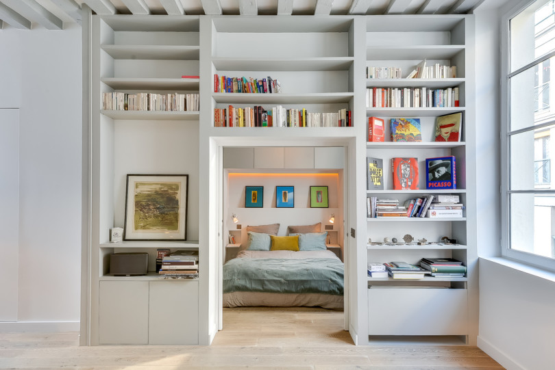 Apartment in the heart of Paris by Tatiana Nicol
