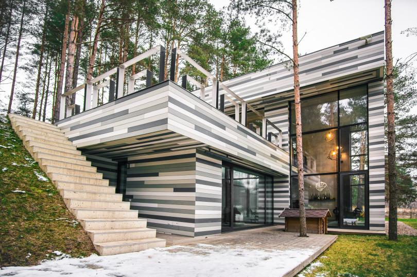 Contemporary Residence near Vilnius by GYZA-01