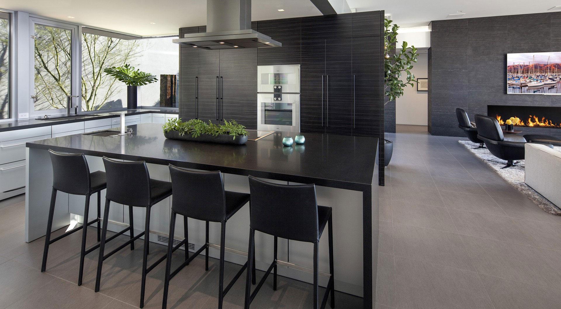 Ellis residence by mcclean design homedezen - Cuisine maison de famille ...