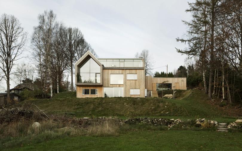 Minimalist Interior in Sweden Villa Bondö-01