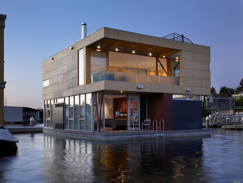 Floating Home in Seattle by Vandeventer + Carlander Architects-01