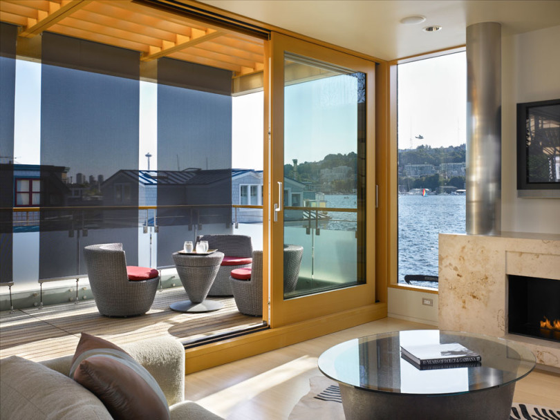Floating Home in Seattle by Vandeventer + Carlander Architects-06