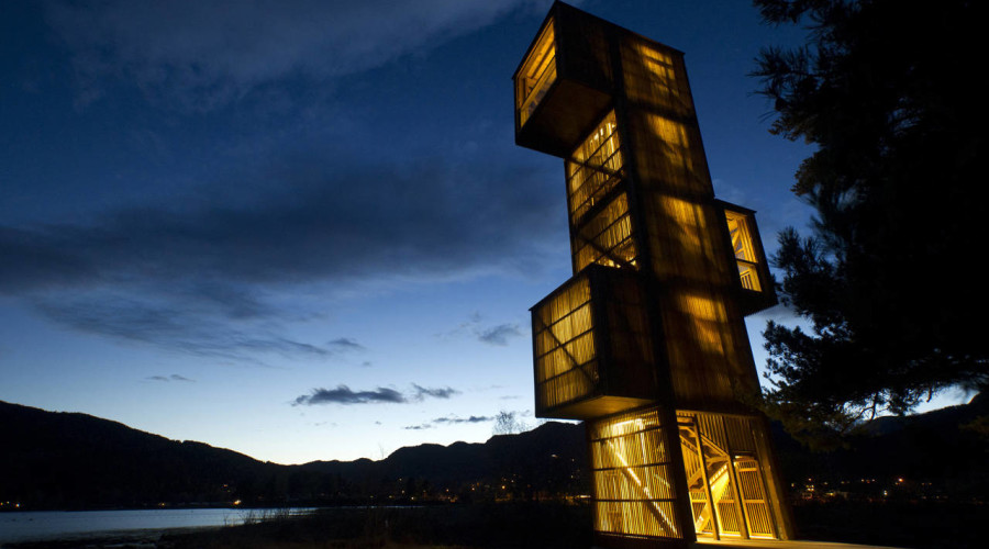 Seljord Watchtower by Rintala Eggertsson Architects