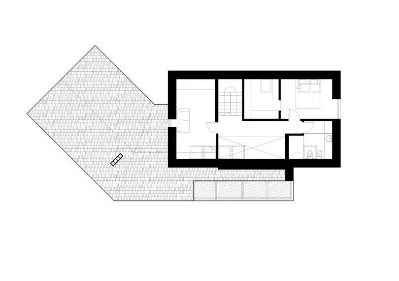Blues House by Studija Archispektras