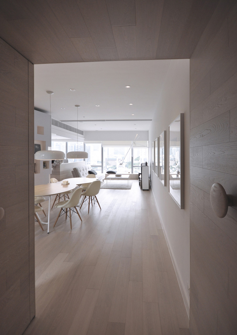 Boathouse Apartment by Bean Buro