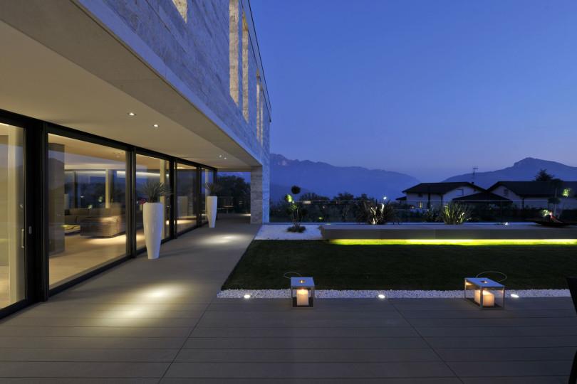Villa Lugano by Angelo Pozzoli
