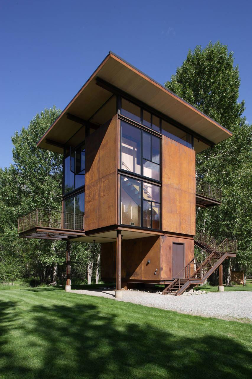 Instant Shelter Mby Architects : Delta shelter by olson kundig architects homedezen