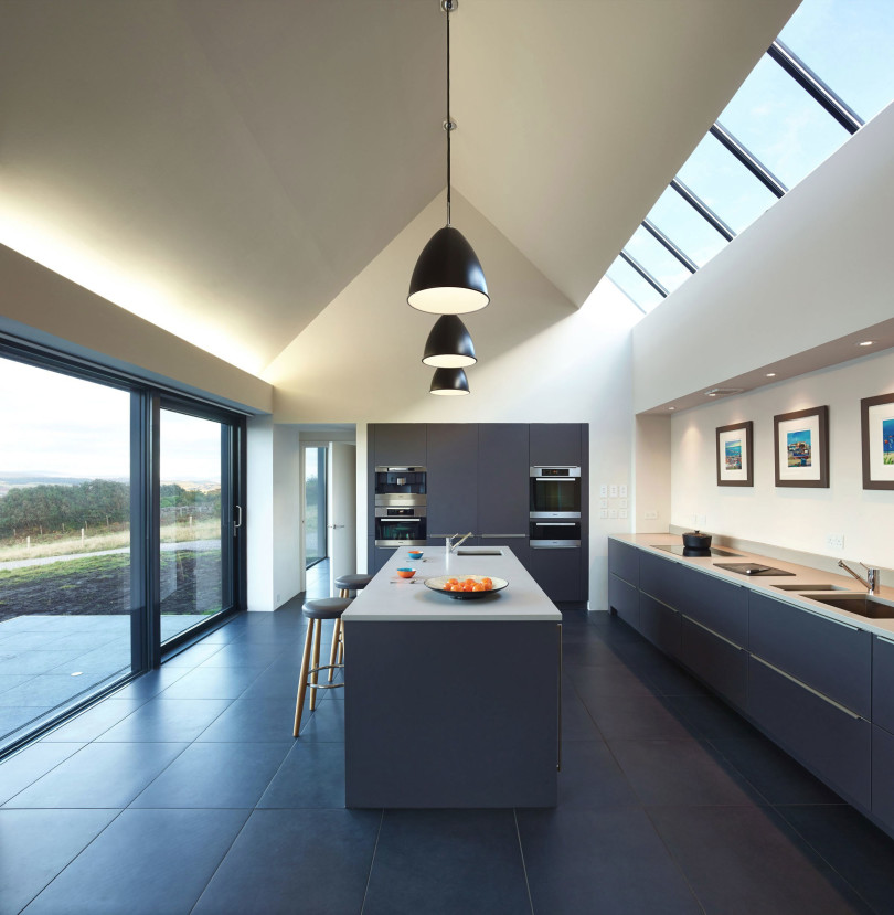 House in Colbost by Dualchas Architects