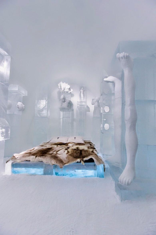 ICEHOTEL in Jukkasjärvi, Northern Sweden