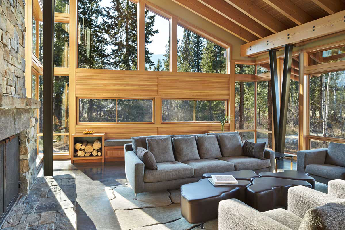 Mazama House by Finne Architects | Homedezen