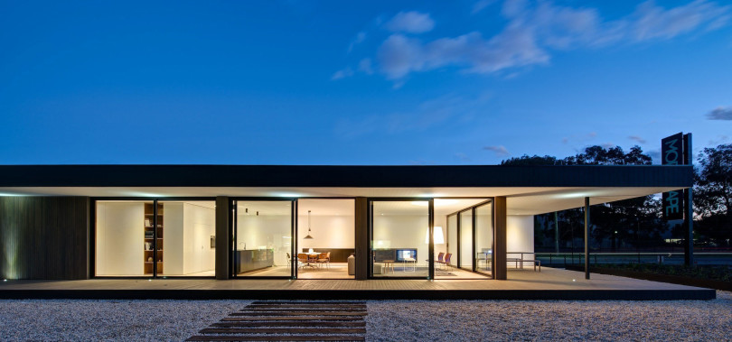 Prefabricated home by Modscape