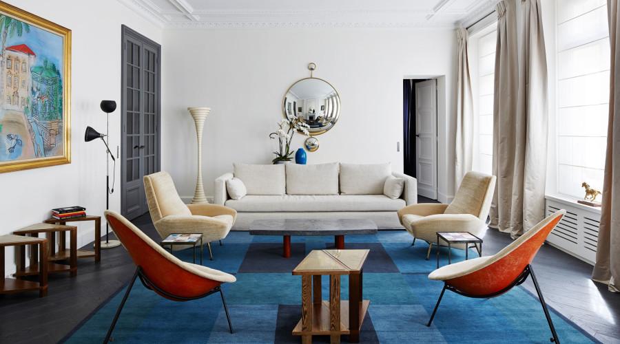 Renovated Apartment by Sarah Lavoine: Paris Solférino
