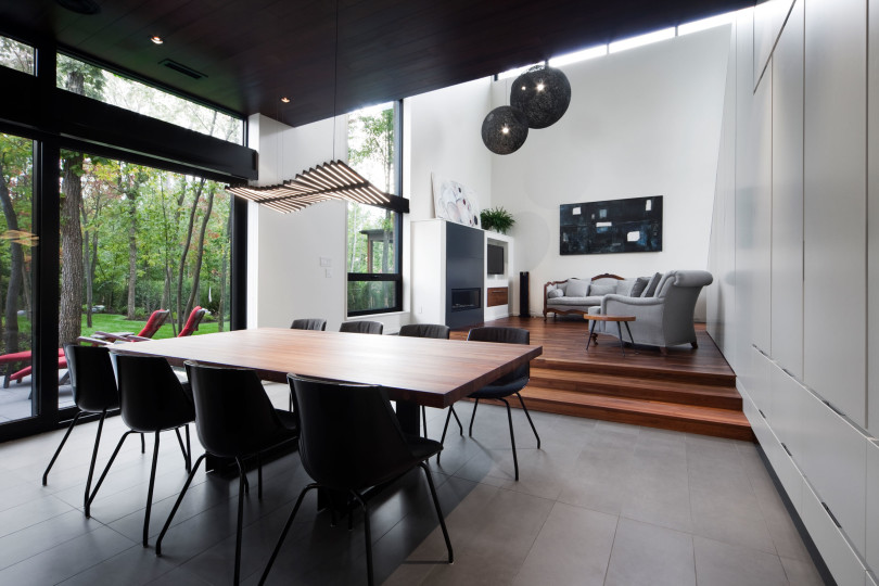 Residence Veranda by Blouin Tardif Architecture-Environnement