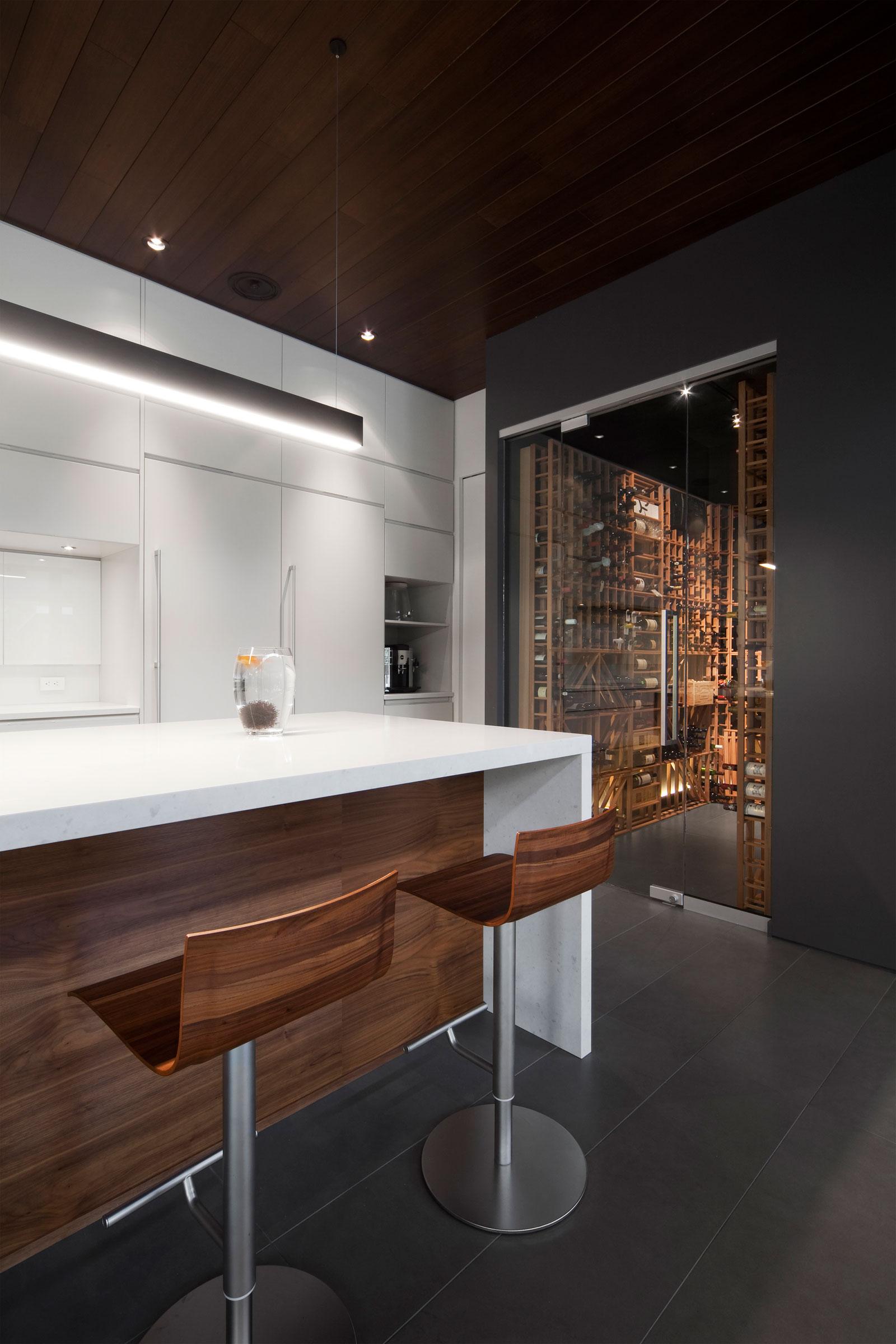 Residence Veranda By Blouin Tardif Architecture