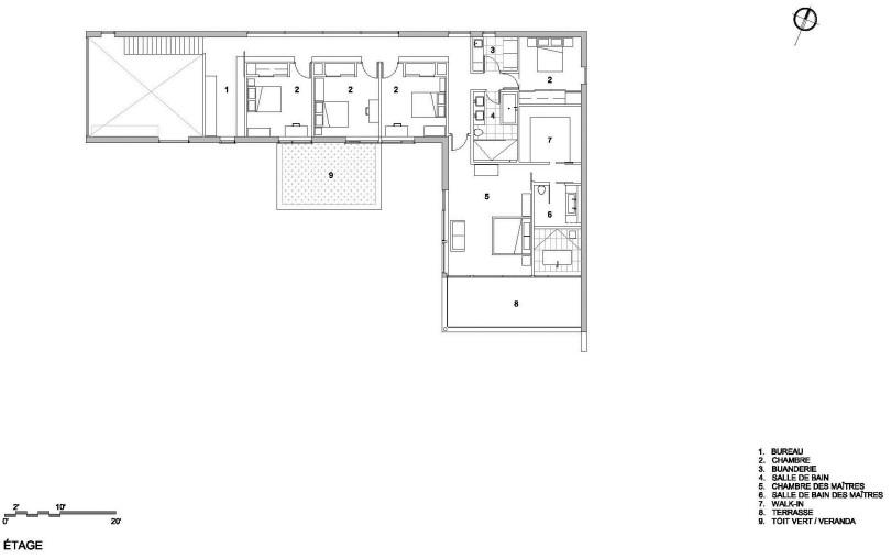 Maison Veranda by Blouin Tardif Architecture-Environnement