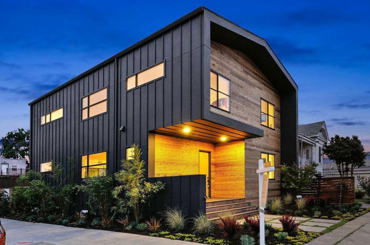 Dream House Exterior Modern Small
