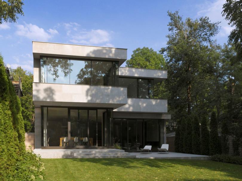 Contemporary House by Atelier Kastelic Buffey