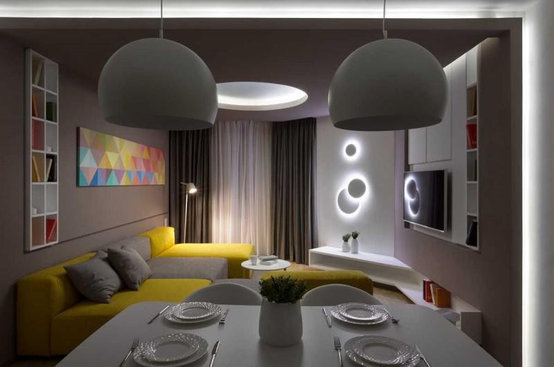 The Moon Box Apartment by Denis Rakaev