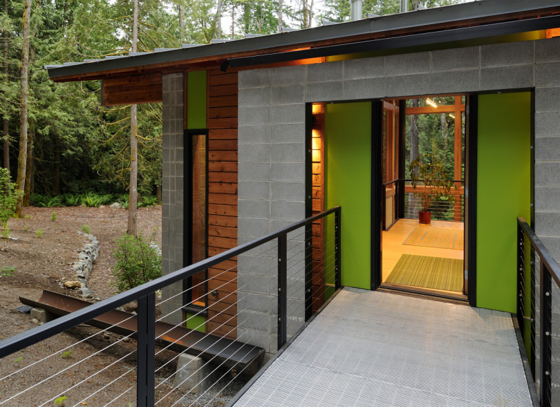 The Schell Wheeler House by Johnston Architects