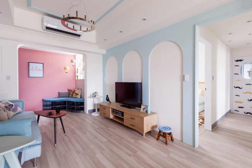The Wonderland Apartment by House Design Studio
