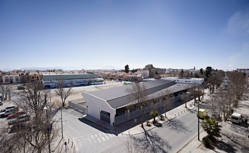 Bus Station by DTR Studio