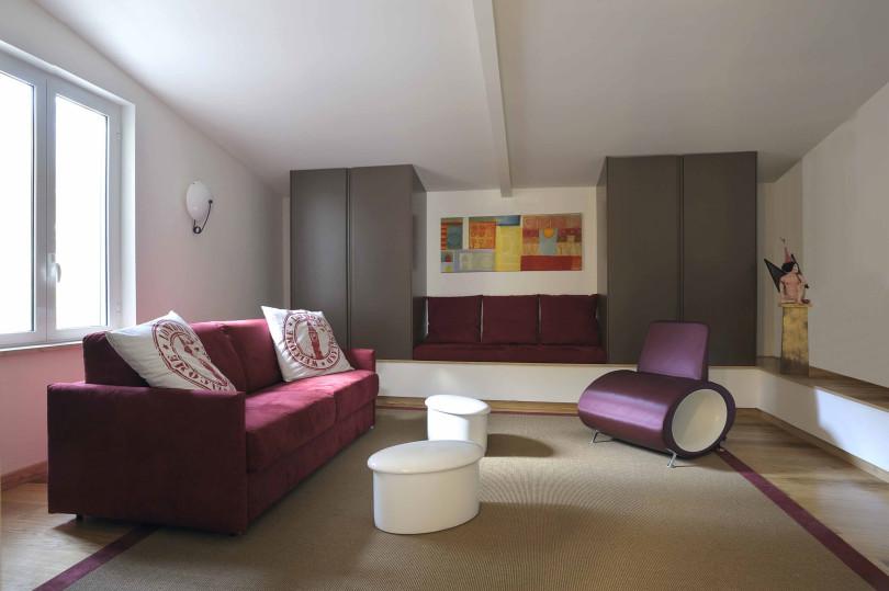 Exquisite Loft in Rome by Angelo Luigi Tartaglia