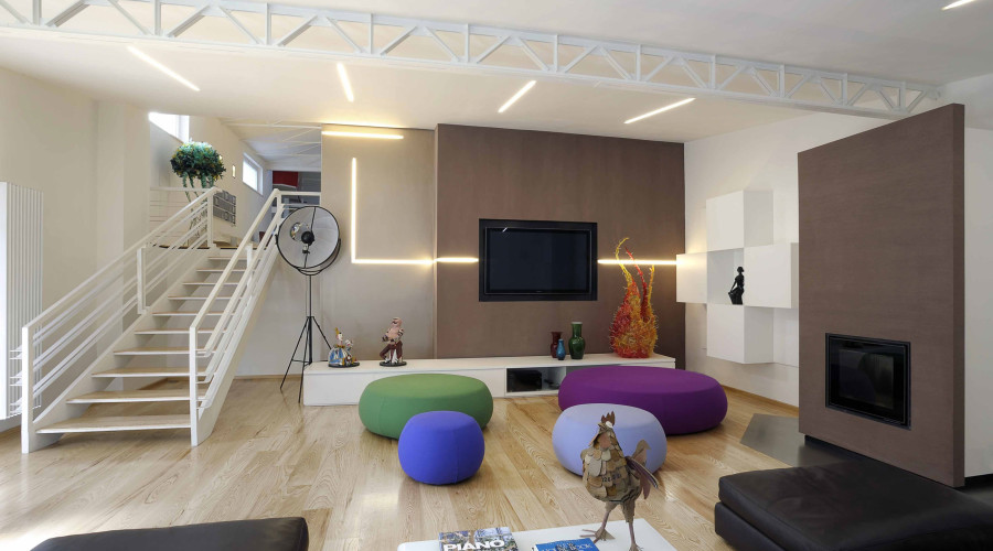 Exquisite Loft in Rome by Angelo Luigi Tartaglia