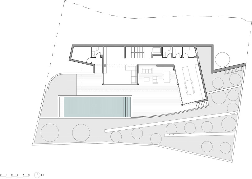 Single family house with swimming pool