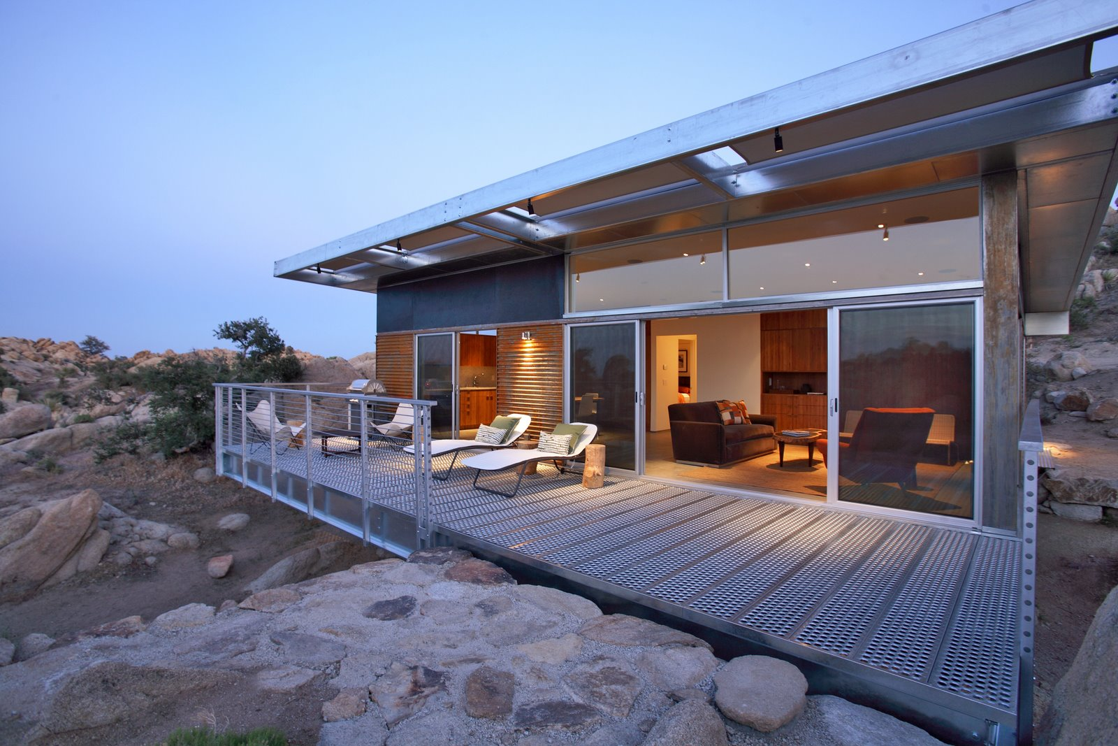 Prefabricated House By O2 Architecture Rock Reach House