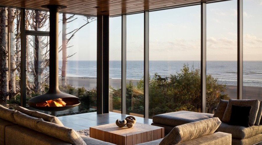 18 modern living rooms with stunning views