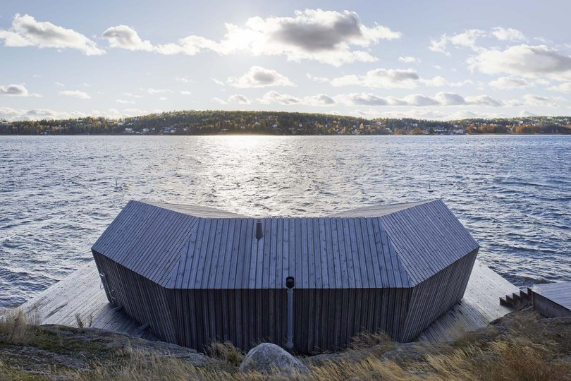 Sauna Saltsjöbaden by Murman Arkitekter