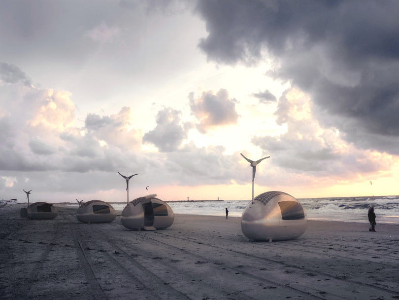 Ecocapsule by Nice Architects