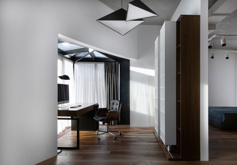 Interior in Saint Petersburg by DA Architects