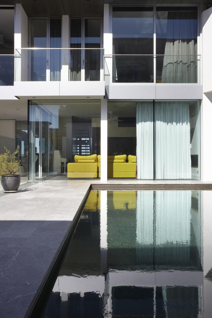 Oceanfront Residence by Rolf Ockert Design